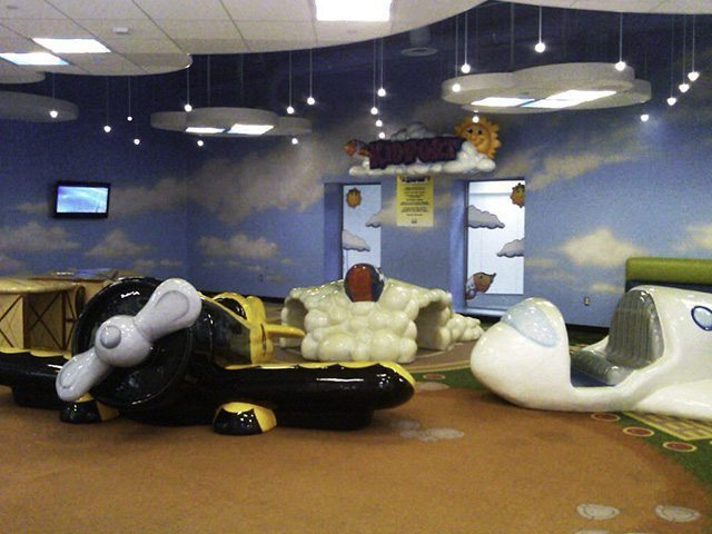 Aeroport Boston - Kids Zone 2